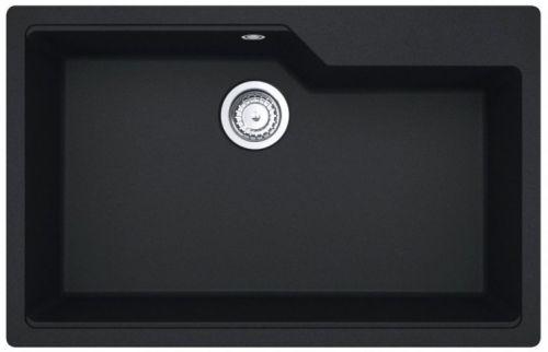 ΝΕΡΟΧΥΤΗΣ ΓΡΑΝΙΤΗ 78x50cm CARRON 6075 ARUBA BLACK