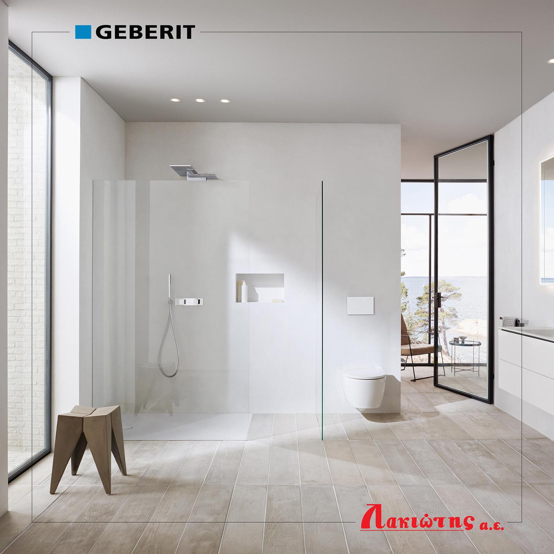 Νέα ισχυρή συνεργασία με τον οίκο Geberit.